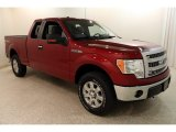 2014 Ruby Red Ford F150 XLT SuperCab 4x4 #132757848