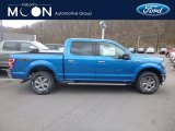 2019 Velocity Blue Ford F150 XLT SuperCrew 4x4 #132757721