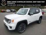 2019 Alpine White Jeep Renegade Limited 4x4 #132757632