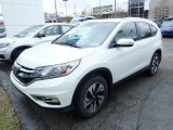2016 White Diamond Pearl Honda CR-V Touring AWD #132757737