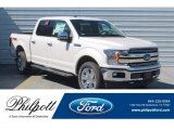 2019 White Platinum Ford F150 Lariat SuperCrew 4x4 #132776914