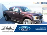 2019 Magma Red Ford F150 XL SuperCrew 4x4 #132776913