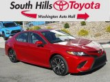 2019 Supersonic Red Toyota Camry SE #132795469