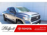 2019 Magnetic Gray Metallic Toyota Tundra TSS Off Road Double Cab 4x4 #132795502
