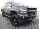 2016 Slate Grey Metallic Chevrolet Silverado 1500 LT Crew Cab 4x4 #132816267
