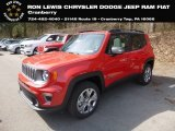 2019 Colorado Red Jeep Renegade Limited 4x4 #132816118