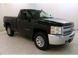 2013 Black Chevrolet Silverado 1500 LT Regular Cab 4x4 #132837030