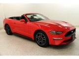 2018 Race Red Ford Mustang EcoBoost Premium Convertible #132837019