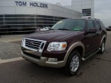 2006 Dark Cherry Metallic Ford Explorer Eddie Bauer 4x4 #1283325