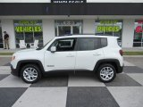 2018 Alpine White Jeep Renegade Latitude #132836976