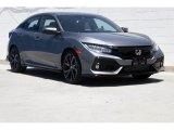 2019 Polished Metal Metallic Honda Civic Sport Touring Hatchback #132863061
