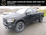 2019 Diamond Black Crystal Pearl Ram 1500 Rebel Crew Cab 4x4 #132876580