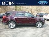 2019 Burgundy Velvet Ford Explorer Limited 4WD #132876713
