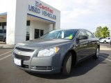 2008 Dark Gray Metallic Chevrolet Malibu LS Sedan #13243236