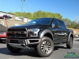 2019 Agate Black Ford F150 SVT Raptor SuperCrew 4x4 #132876438