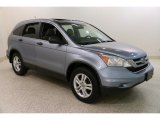 2010 Glacier Blue Metallic Honda CR-V EX AWD #132902654