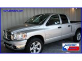 2008 Bright Silver Metallic Dodge Ram 1500 Big Horn Edition Quad Cab #13242072