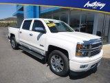 2014 White Diamond Tricoat Chevrolet Silverado 1500 High Country Crew Cab 4x4 #132902677