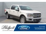 2019 White Platinum Ford F150 King Ranch SuperCrew 4x4 #132920176