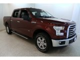 2015 Bronze Fire Metallic Ford F150 XLT SuperCrew 4x4 #132937565