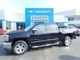 2016 Black Chevrolet Silverado 1500 LTZ Crew Cab 4x4 #132937358