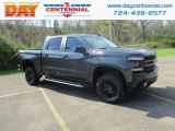2019 Shadow Gray Metallic Chevrolet Silverado 1500 LT Z71 Trail Boss Crew Cab 4WD #132937250