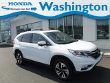2016 White Diamond Pearl Honda CR-V Touring AWD #132937295