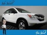 2008 Taffeta White Honda CR-V LX 4WD #132937488