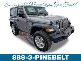 2019 Jeep Wrangler Billet Silver Metallic