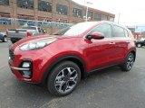 2020 Kia Sportage Hyper Red