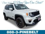 2019 Alpine White Jeep Renegade Altitude 4x4 #132962456