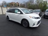2019 Blizzard Pearl White Toyota Sienna Limited AWD #132962660