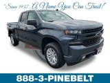 2019 Shadow Gray Metallic Chevrolet Silverado 1500 RST Double Cab 4WD #132962446