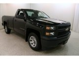 2014 Black Chevrolet Silverado 1500 WT Regular Cab #132962612