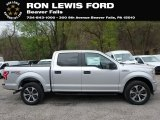 2019 Ingot Silver Ford F150 STX SuperCrew 4x4 #132962512
