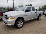 2012 Bright Silver Metallic Dodge Ram 1500 ST Quad Cab 4x4 #132978060