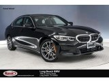 2019 Jet Black BMW 3 Series 330i Sedan #132993356