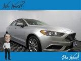 2017 Ingot Silver Ford Fusion Hybrid SE #132993398