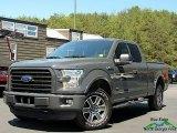 2016 Lithium Gray Ford F150 XLT SuperCab 4x4 #132993087