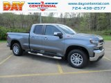 2019 Shadow Gray Metallic Chevrolet Silverado 1500 LT Double Cab 4WD #133020564