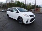 2019 Super White Toyota Sienna LE AWD #133020769
