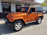 2010 Mango Tango Pearl Jeep Wrangler Sahara 4x4 #133020768