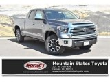 2019 Magnetic Gray Metallic Toyota Tundra Limited Double Cab 4x4 #133020495
