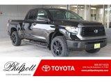 2019 Midnight Black Metallic Toyota Tundra TSS Off Road Double Cab #133020655