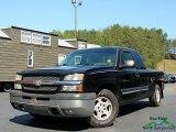 2004 Black Chevrolet Silverado 1500 LS Extended Cab #133020447
