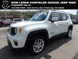 2019 Alpine White Jeep Renegade Latitude 4x4 #133020695