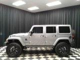 2016 Billet Silver Metallic Jeep Wrangler Unlimited Rubicon 4x4 #133042310
