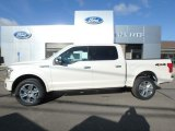 2019 White Platinum Ford F150 Platinum SuperCrew 4x4 #133042549