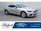2016 Ingot Silver Metallic Ford Mustang V6 Coupe #133042428
