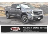 2019 Magnetic Gray Metallic Toyota Tundra Limited CrewMax 4x4 #133042362